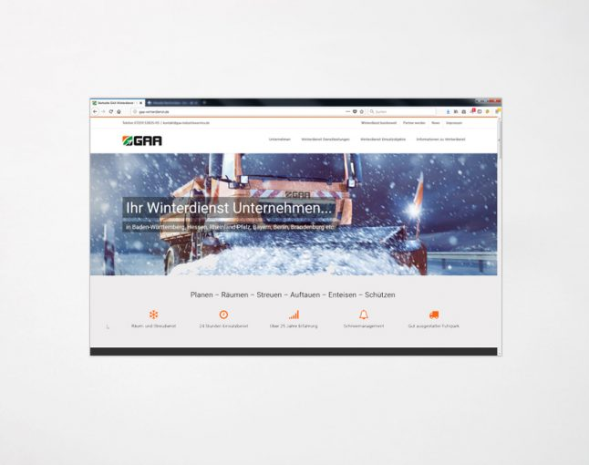 Webdesign | gaa-winterdienst.de