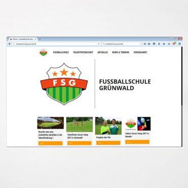 Webdesign | Fussballschule