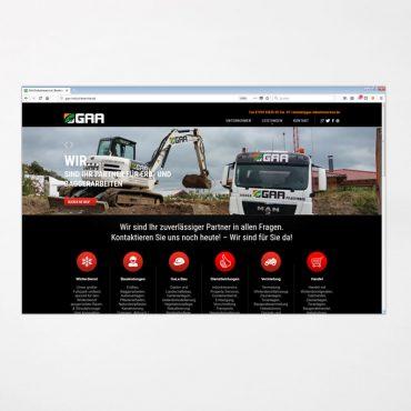 Webdesign | gaa-industrieservice.de