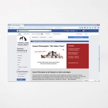 Social Media | Facebook Tierklinik HD