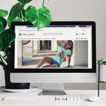 E-Commerce | Prilano Shirtshop